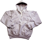 Heavyweight 1/4 Zip Hood 18 oz.  CALL FOR AVAILABILITY ON THIS ITEM