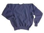 Crewneck sweatshirt with Muff Pocket 18 oz. Fabric